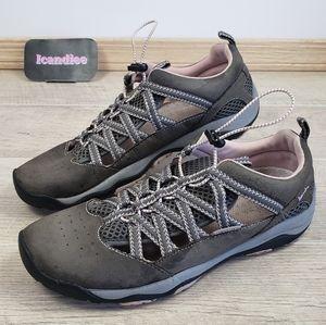 Jambu Womens Gray Pink Aliana Trail Shoes Sz 10M